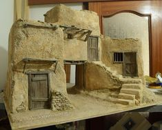 1 million+ Stunning Free Images to Use Anywhere Nativity House, Diy Nativity, Christmas Nativity Scene, Christmas Diy, Wargaming Terrain, Free To Use Images, Creation Deco, Ceramic Houses, Miniature Houses
