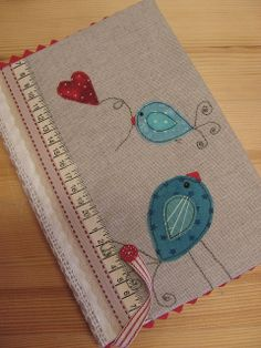 Notebook Cover, pattern by Veres Edit