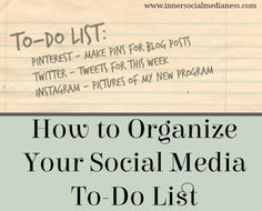 Blog post at Social Media for Business : Getting Things Done I'm always on a quest to use my time more efficiently when I'm online managing my social media marketing. In my lates[..]