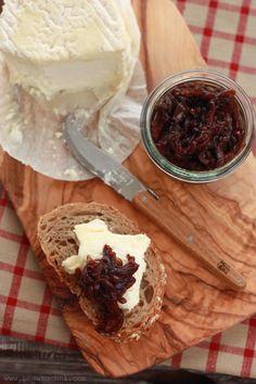 'Oignons confits', czyli karmelizowana cebula   Bea w Kuchni