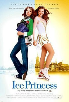 "Skating Movies List | Ice Princess"" Promotional Poster"