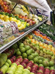 Picking Out Produce fruit