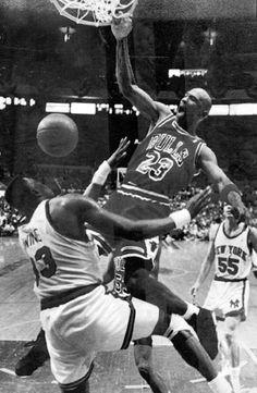 Jordan vs Knicks