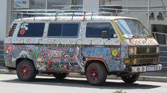 Rock & Roll VW Kombi