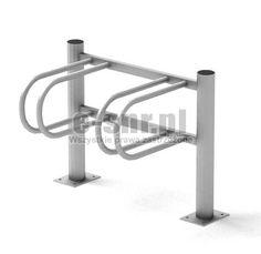 Stojak rowerowy aluminiowy na 2 stanowiska (kod:3060/2/A/PW) http://E-stojakinarowery.pl