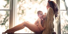 A Chicago photographer is breaking the stigma of extended breastfeeding by showing the beauty of it in stylish snaps. Ivette Ivens, who is also a mother of two, originally took the photos as part