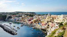 beautiful panoramic view of Procida by Tania Lerro on 500px