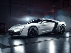 2013 W Lykan Hypersport. Priced over 3 million this Arab Supercar is the most expensive production car in the world!