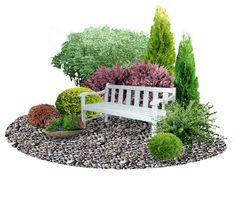Small garden plans and ideas Ландшафтное бюро Клод Моне