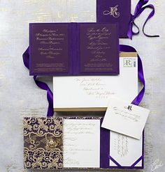 Love the champagne lace over purple..would be crazy expensive but a very pretty inspiration