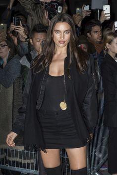 b0125e35 Kardashian shares Givenchy spotlight with Malik, Hadid. Irina ShayakIrina  Shayk ...