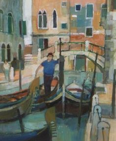 View all Moira HUNTLY art and British artwork at Red Rag art gallery. Landscape Paintings, Oil Paintings, Landscapes, Venice Painting, Painter Artist, English Artists, Landscape Illustration, Art Club, Famous Artists