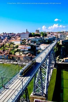 METRO DE SUPERFÍCIE entre PORTO E Vª Nª de GAIA - PONTE LUIS I - PORTUGAL