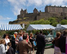 Edinburgh, Scotland's award-winning Farmers' Market is the largest in the country and set on Castle Terrace in the shadow of the imposing and iconic Edinburgh Castle.