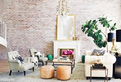 7 Décor Ideas to Steal from Hollywood's Coolest It-Girls via @domainehome lauren conrad house