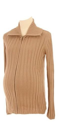 Lilo Maternity Ribbed Zip Sweater Camel XL by Lilo Maternity. $45.00. Top Quality Children's Item.. Made with the Best Quality Material with your child in mind.. Lilo Maternity knows how expectant women feel because our company was started and continues to be run by women who have gone through the pregnancy experience. As your body goes through changes, it becomes more difficult to find comfortable clothing without compromising your sense of style. It is for this very r...