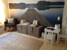 Myytävät asunnot, Laajasalonkaari 44 Laajasalo #olohuone #kuvatapetti #oikotieasunnot