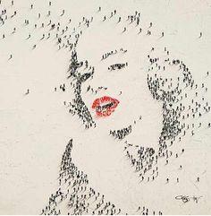 Marilyn Monroe by many people
