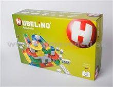 HUBELINO BASIS Geniálna stavebnica, ktorá poskytuje veľa zábavy, rýchlosť a kreativitu. Guľôčková dráha je variabilná a záleží len na fantázii dieťaťa. Je kompatibilná s podobnými stavebnicami.