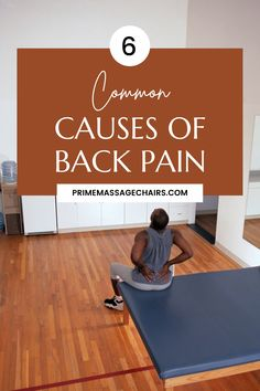 In this article, we will discuss the 6 common causes of back pain and how to get rid of it like a pro. Click through to learn more. Causes Of Back Pain, Massage Benefits, How To Get Rid
