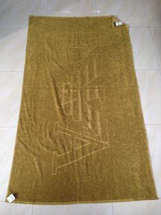 Emporio Armani Bath / Beach EA Towels Size XXL #Armani