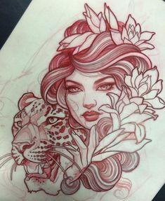 Las 210 Mejores Imágenes De Neo Tradicional Tattoo En 2019 Arte
