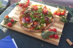 This is the pizza we created that won the second prize in clasic pizza section of the Romanian National Pizza Championship Cluj 2014