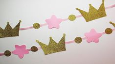 Disney Princess Birthday Party - Unbelievable DIY Crafts on a Budget Disney Princess Birthday Party, Cinderella Birthday, Princess Theme, Girl Birthday, Diy Crafts On A Budget, Birthday Party Decorations, Birthday Parties, Crown Decor, Glitter Candles