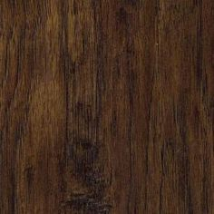 TrafficMASTER Handscraped Saratoga Hickory 7 mm Thick x 7-2/3 in. Wide x 50-5/8 in. Length Laminate Flooring (24.17 sq. ft. / case)-34089 at...