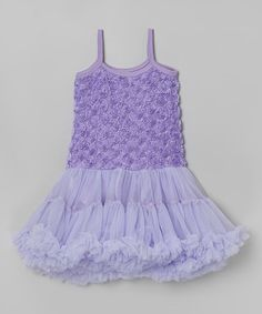 This Lavender Rosette Pettidress - Infant & Toddler is perfect! #zulilyfinds
