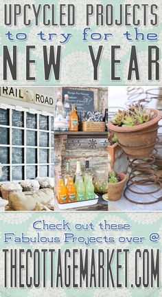 Upcycled Projects to try for the New Year