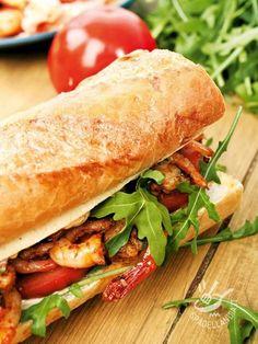 Panini Sandwiches, Toast Sandwich, Tapas Bar, Breakfast Snacks, Antipasto, Bruschetta, Fett, Hot Dog Buns, Food Inspiration