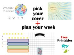 Organize Your Week - Free Printable Planner