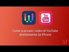 (11) Come scaricare video da YouTube su iPhone con Workflow / How to download YouTube Videos on iPhone - YouTube