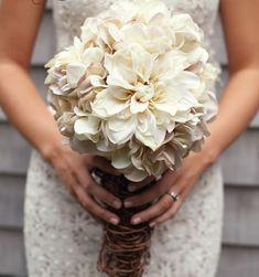 Diy bruidsboeket hortensia
