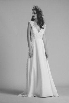 Robes de mariée - Atelier Anonyme - Collection 2017 | Modèle : Louison | Photographe : Elodie Timmermans | Donne-moi ta main - Blog mariage #AtelierAnonyme #mariage #robesdemariée #weddingdresses #paris
