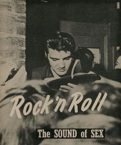Rock'n Roll: The sound of sex!  http://www.creativeboysclub.com/