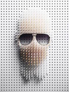 Sélection de la semaine, #WTF, #Cosplay, #Geek, #FunFacts, #Design, #Photographie, #Vrac - Karl Lagerfeld épinglé #Art