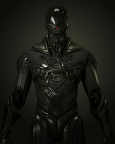 Brilliant 3D SciFi armour - design by UltraVD ...................... how to explain to people how i need this  ;):