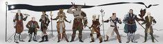 Confirmado lo compañeros jugables en Dragon age : inquisition