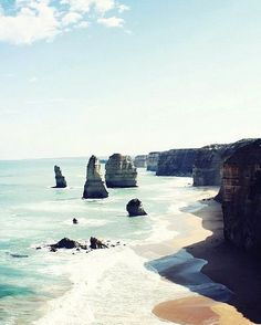 The 12 Apostles #beach #stunning #ocean #sand #melbournelife #rock #greatoceanroad #travel #explore #discover #melbourne by melbournebyluxico