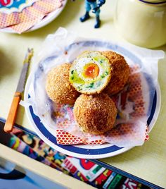 Probably the best scotch egg you'll ever have tasted. The addition of truffle oil and parmesan makes this recipe sublime.