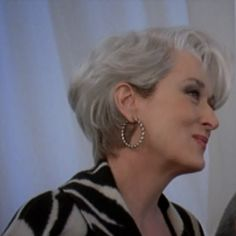 meryl streep hairstyles devil wears prada - Pesquisa Google