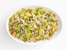 Barley-Leek Pilaf recipe from Food Network Kitchen via Food Network