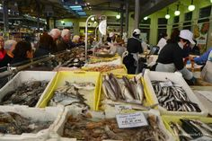 "Fish Market Mercato Albinelli Modena - ""Edible Art: The Fresh Market of Modena, Italy"" by @Tricia Mitchell"
