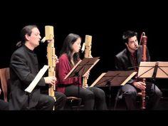 ▶ Three Irish traditional - Quinta Essentia Recorder Quartet & Paul Leenhouts - YouTube