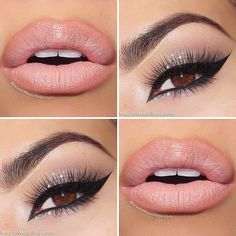 Amazing Makeup and nude lip