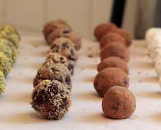 This is the fastest and easiest recipe for making delicious, perfectly flavored chocolate truffles. Customize the flavors and toppings to suit your exact tastes. You'll get hooked on trying to ...