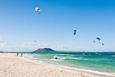 Kite-Surfer auf Fuerteventura