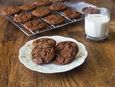 Aunt Lou's Chocolate drop cookies. A very old family cookie recipe.   ethnicspoon.com